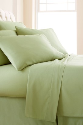 SouthShore Fine Linens King Sized Vilano Springs Extra Deep Pocket Sheet Set - Sage Green
