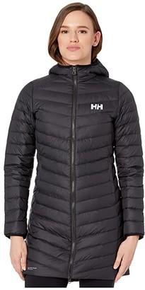Helly Hansen Verglas Long Insulator Jacket (Black) Women's Coat
