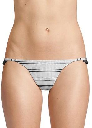 Same Swim The Pin-Up Woven Bikini Bottoms
