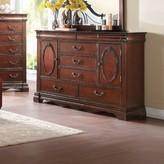 Daxton Wooden 5 Drawer Combo Dresser Astoria Grand