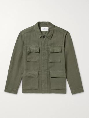 Mr P. Garment-Dyed Linen Field Jacket