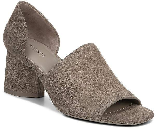 c4cb8d4115 Via Spiga Block Heel Women's Sandals - ShopStyle