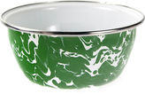 Golden Rabbit S/4 Swirl Salad Bowls, Green