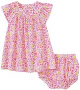 Absorba Floral Woven Dress Set (Baby) - Pink - 18 Months