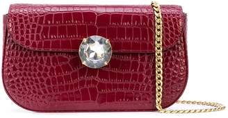 Miu Miu gemstone flap clutch