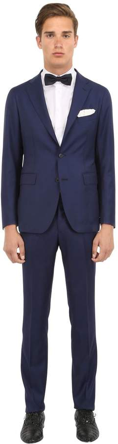 Tagliatore Super 110's Virgin Wool Hopsack Suit