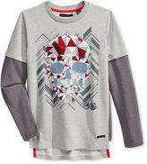 Sean John Little Boys' Long-Sleeve Graphic-Print T-Shirt