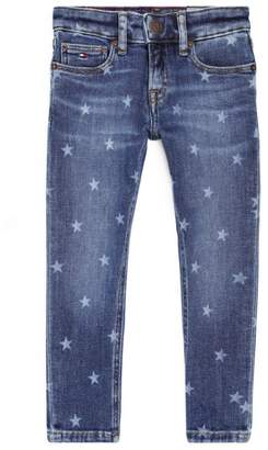 Tommy Hilfiger Junior Star Print Tapered Jeans