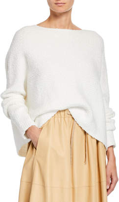 Vince Relaxed Hooded Pullover Sweater