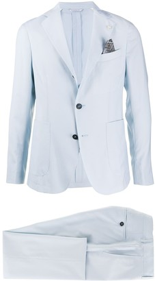 Manuel Ritz Single Breasted Formal Suit