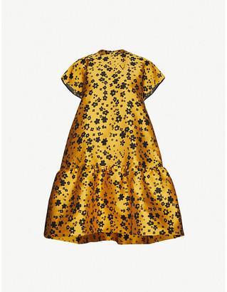 Samsoe & Samsoe Rose floral-print woven mini dress