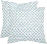 Safavieh Nikki Set Of 2 Decorative Pillows