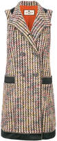 Etro sleeveless bouclé jacket