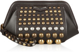 Marc by Marc Jacobs Thunderdome studded leather clutch