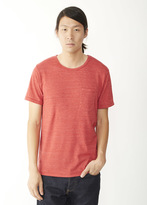 Alternative Eco-Jersey Pocket Crew T-Shirt