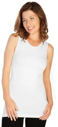 skinnytees Missy Basic Tank - High Neckline