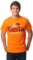 Mighty Fine mens Fanta Orange Retro Logo Men's T-Shirt