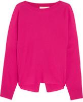 Vanessa Bruno Famed Open-Back Merino Wool Sweater