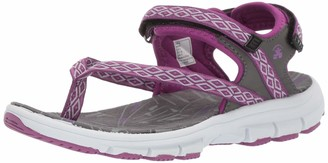 Kamik Women's Tampa Ankle Strap Sandals Purple (Purple Pur) 9 UK
