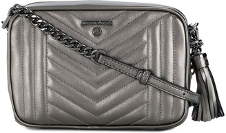 MICHAEL Michael Kors Metallic Quilted Crossbody Bag