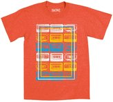AirWaves Cassette Tapes, Inset Frame - TODDLER SHORT SLEEVE TEE