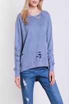 Apricot Lane St. Cloud Tattered Dreamer Sweatshirt