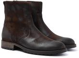 Belstaff Attwell Oak Brown Suede Boots