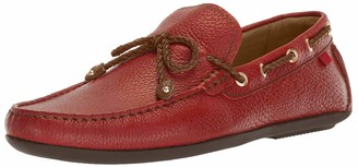 Marc Joseph New York Mens Genuine Leather Cypress Hill Driver Driving Style Loafer red grainy 10 D(M) US
