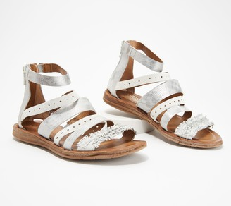 Miz Mooz Leather Multi-Strap Sandals - Flora