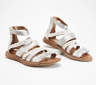 Miz Mooz Leather Multi-Strap Sandals - Flora