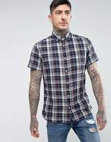 Jack and Jones Vintage Short Sleeve Check Shirt