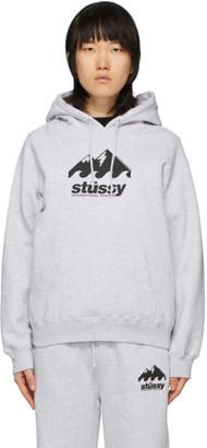 Stussy Grey Coastline Hoodie