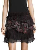 IRO Loey Tiered Ruffle Skirt