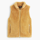 J.Crew Plush fleece excursion vest