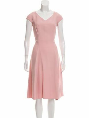 Prada Midi A-Line Dress w/ Tags Pink