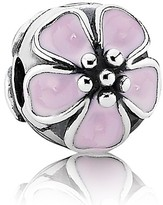 Pandora Clip - Sterling Silver & Enamel Cherry Blossom, Moments Collection