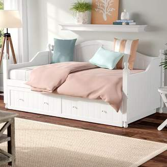Beachcrest Home Pennrock Twin Daybed with Trundle