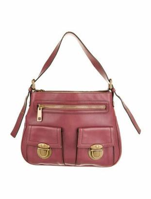 Marc Jacobs Leather Shoulder Bag Gold