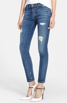 Current/Elliott 'The Stiletto' Destroyed Skinny Jeans (Niagara Destroy) (Nordstrom Exclusive)