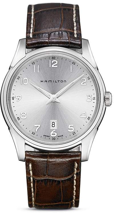 Hamilton Jazzmaster Thinline Quartz Watch, 42mm
