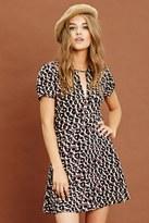 Forever 21 Leopard Print Skater Dress