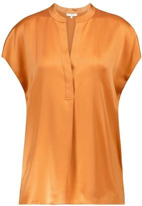 Vince Silk crepe de chine blouse
