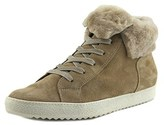 Paul Green Jodi Spt Women Suede Tan Fashion Sneakers.