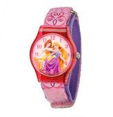 Disney Belle Rapunzel Princess Kids Pink Printed Nylon Strap Watch