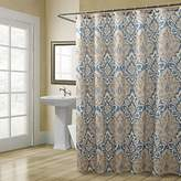 "Croscill Captain's Quarters Shower Curtain Beige 70 in"" 72 in"""