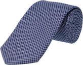 Ike Behar Navy Silk Tie