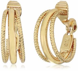 Anne Klein Ce Multi Ring Hoop- Gld