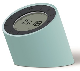 GINGKO Green Edge Alarm Clock Light - Green