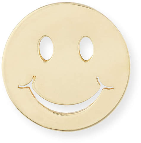 Sydney Evan Pure Happy Face Stud Earring