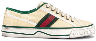 Gucci Old Tennis 1977 Sneakers in Mystic White | FWRD